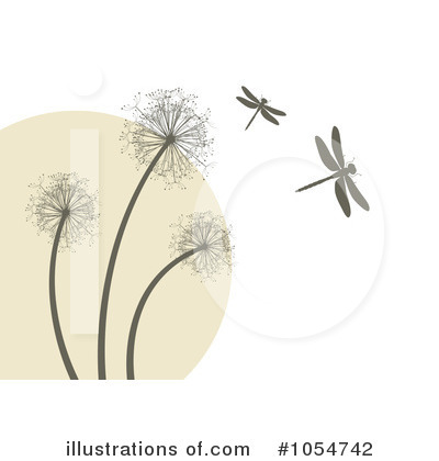 Dandelion clipart royalty free. Illustration by vectorace