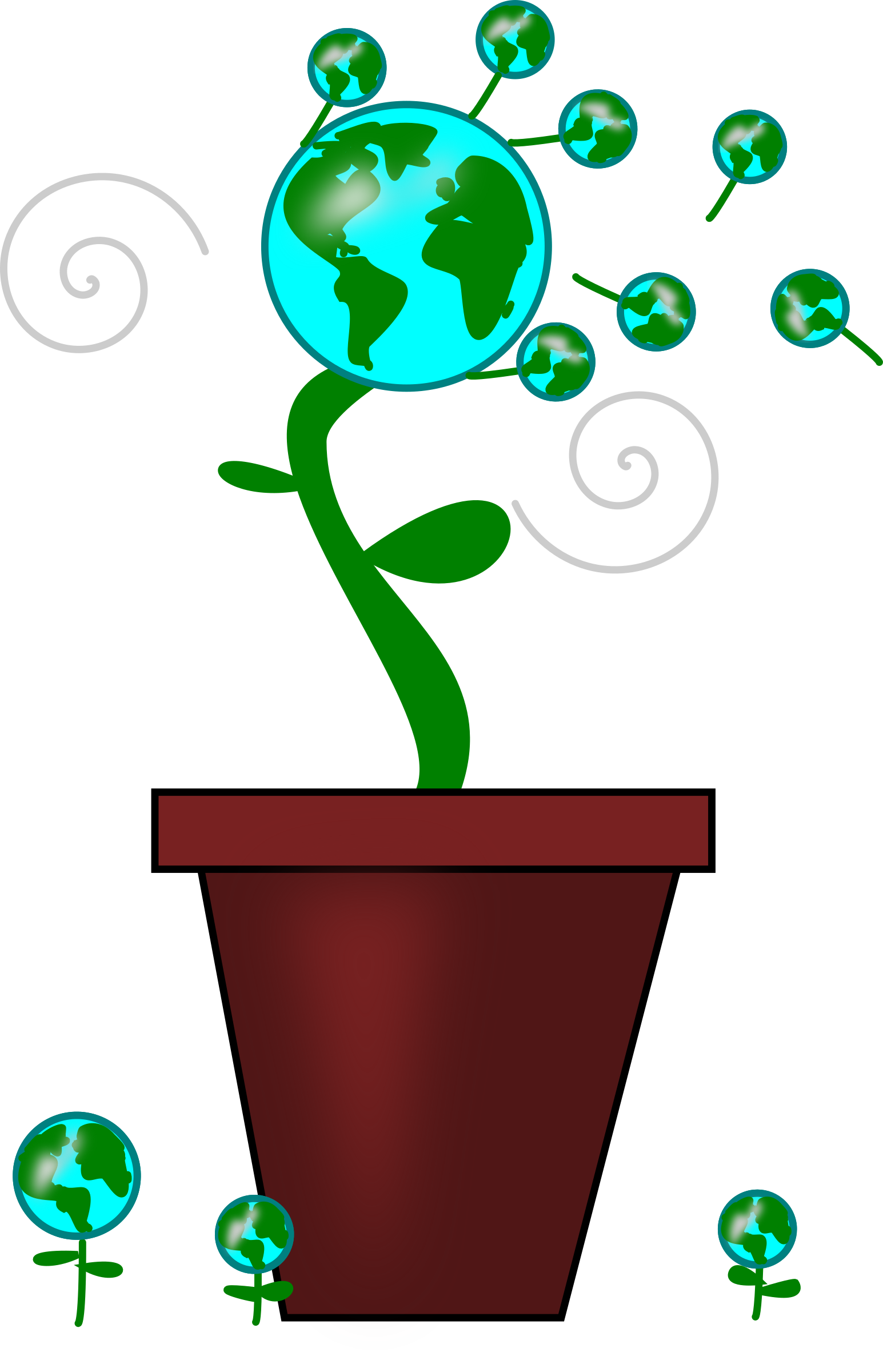 Earth icons png free. Dandelion clipart svg
