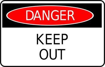 Clip art animated gif. Danger clipart