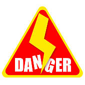 Panda free images info. Danger clipart