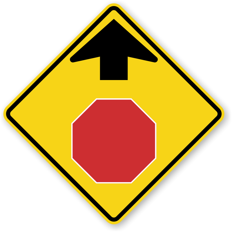 Nc drivers signs and. Danger clipart blank yield sign