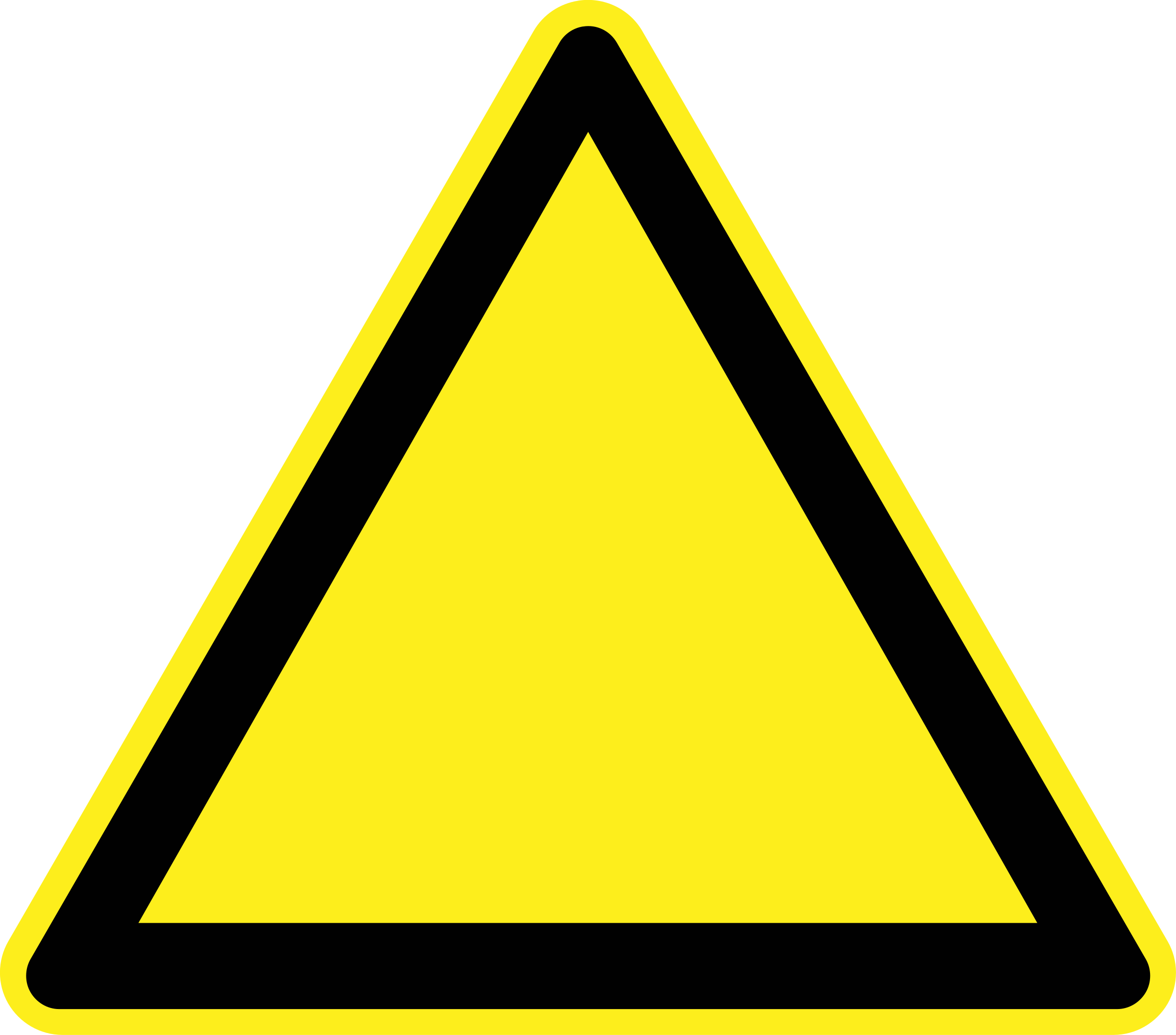 Emergency clipart danger symbol. Caution sign free download