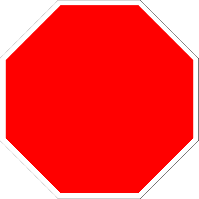 Stop pics image group. Danger clipart blank yield sign