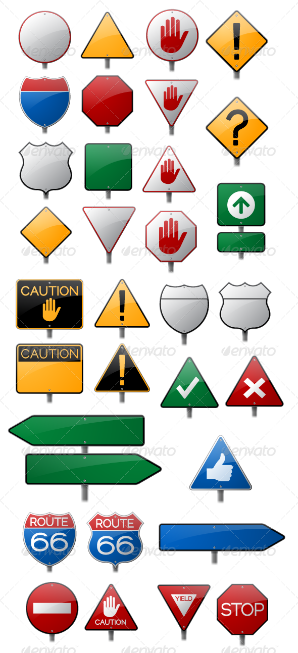 Danger clipart blank yield sign. Road collection by filolif