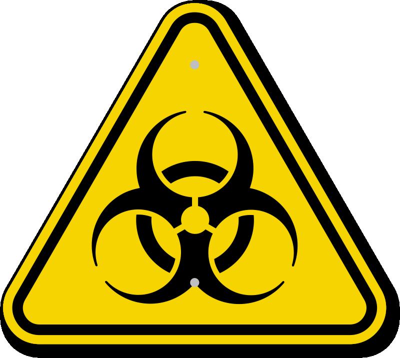 Emergency clipart danger symbol. Biohazard signs warning zoom