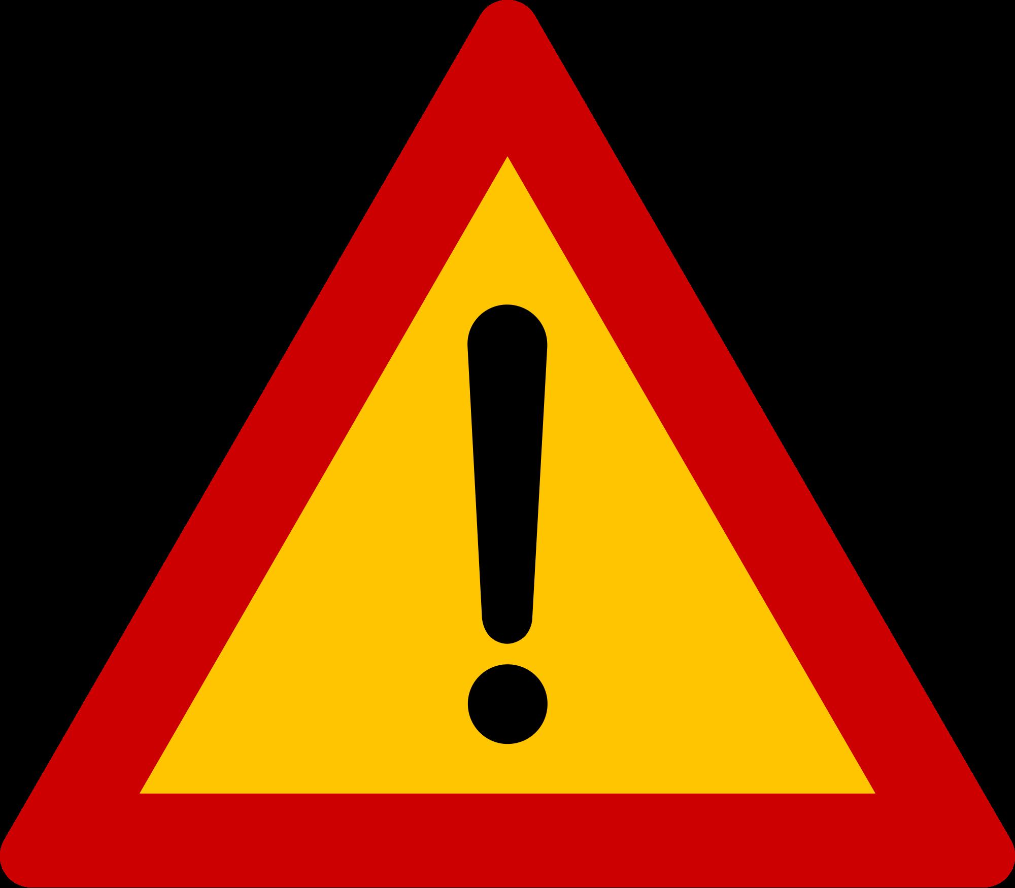 File sign other dangers. Danger clipart dangerous road