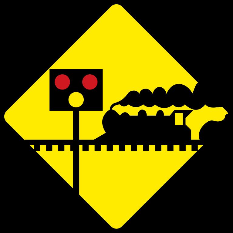 Danger clipart dangerous road. File ireland sign w