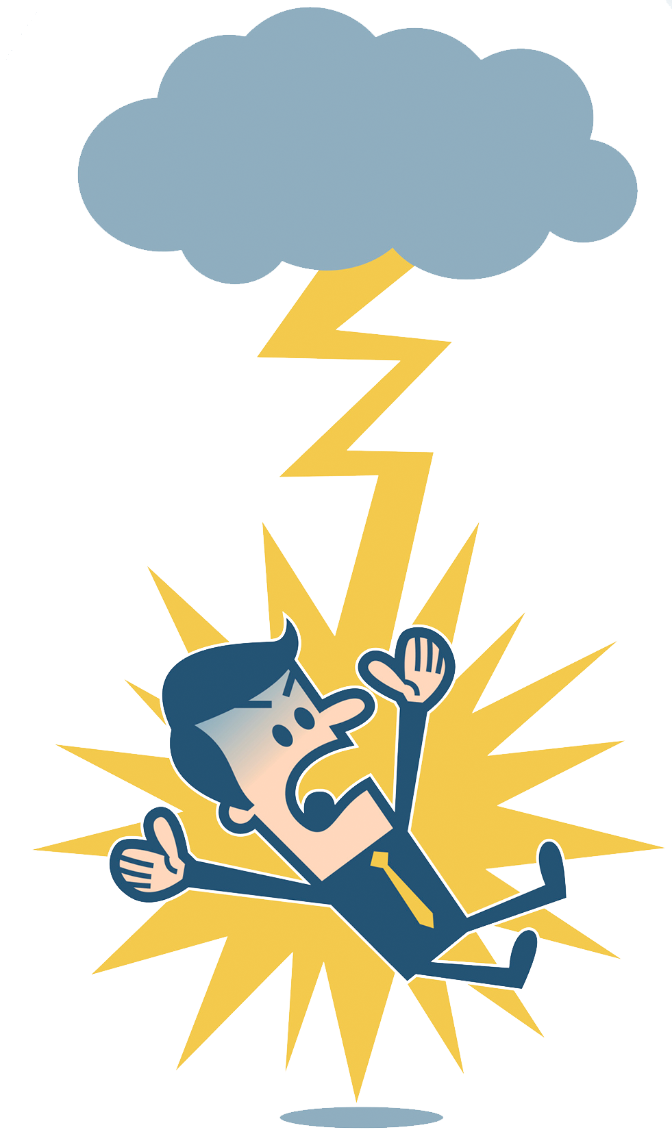 Lightning electrical injury clip. Electricity clipart electricity danger