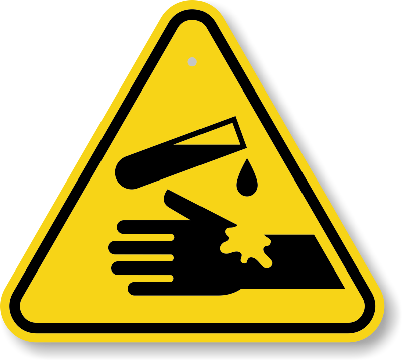 Safety signs iq quiz. Electric clipart warning