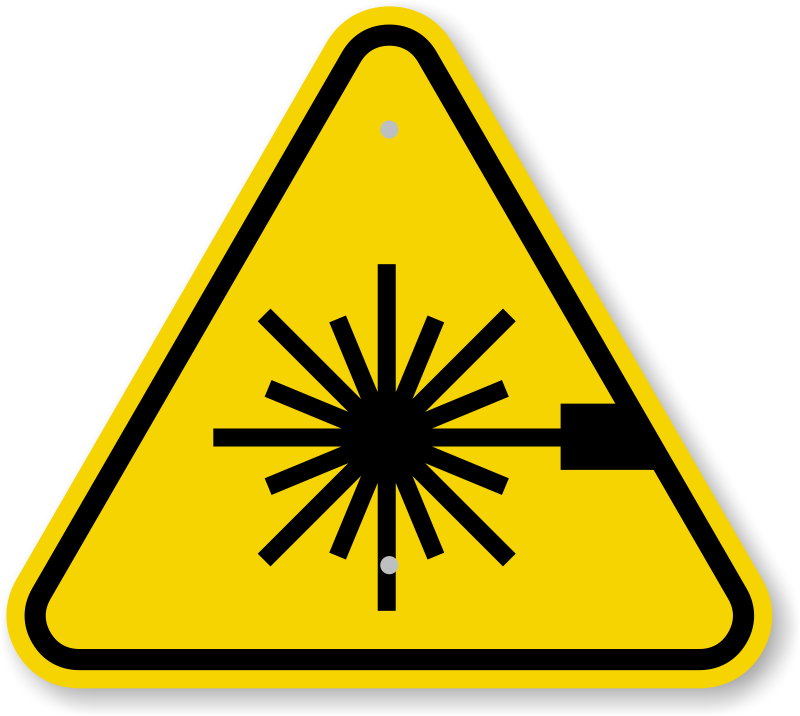 Iso safety signs warning. Ufo clipart beam