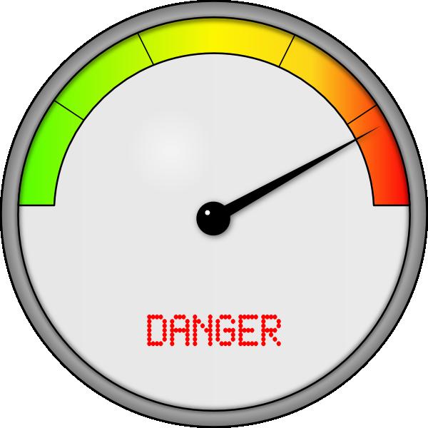 Danger clipart risks. Meter clip art at
