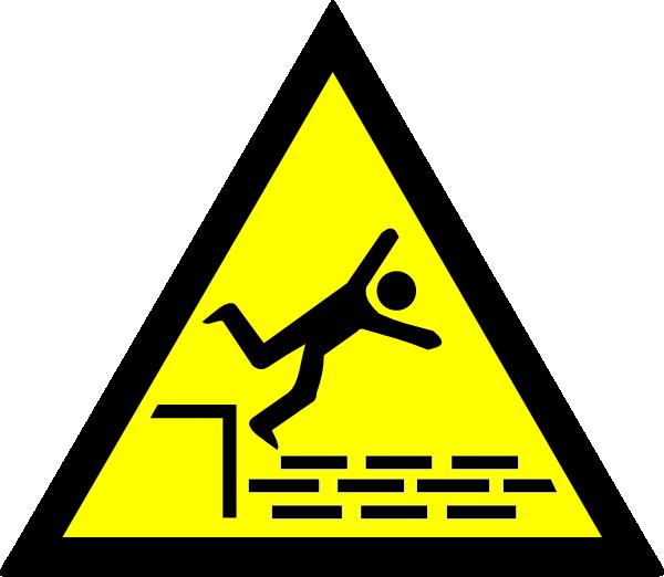 Fall clip art at. Danger clipart risks