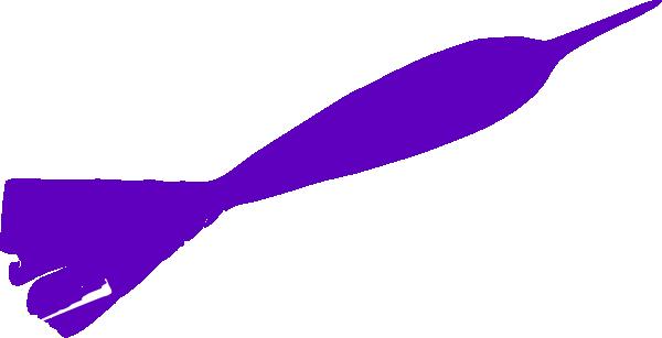 Dart clipart. Purple clip art at