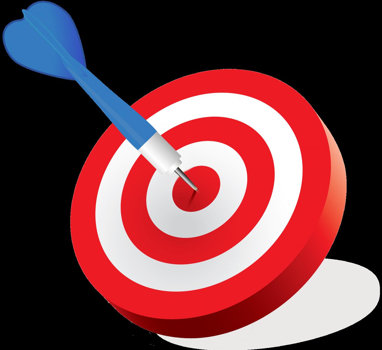 Goal clipart goal target. Shooting clip art transprent