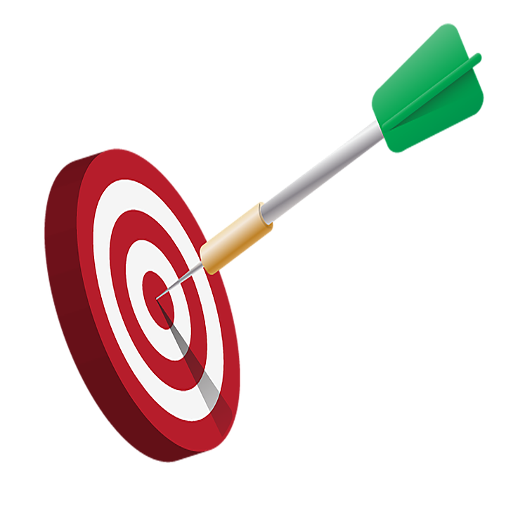 Darts png icon web. Goals clipart learning