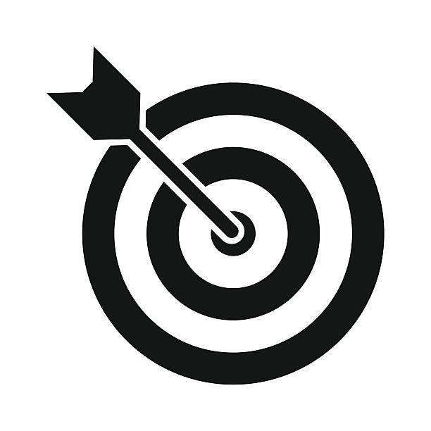 Darts clipart logo. Dart black and white