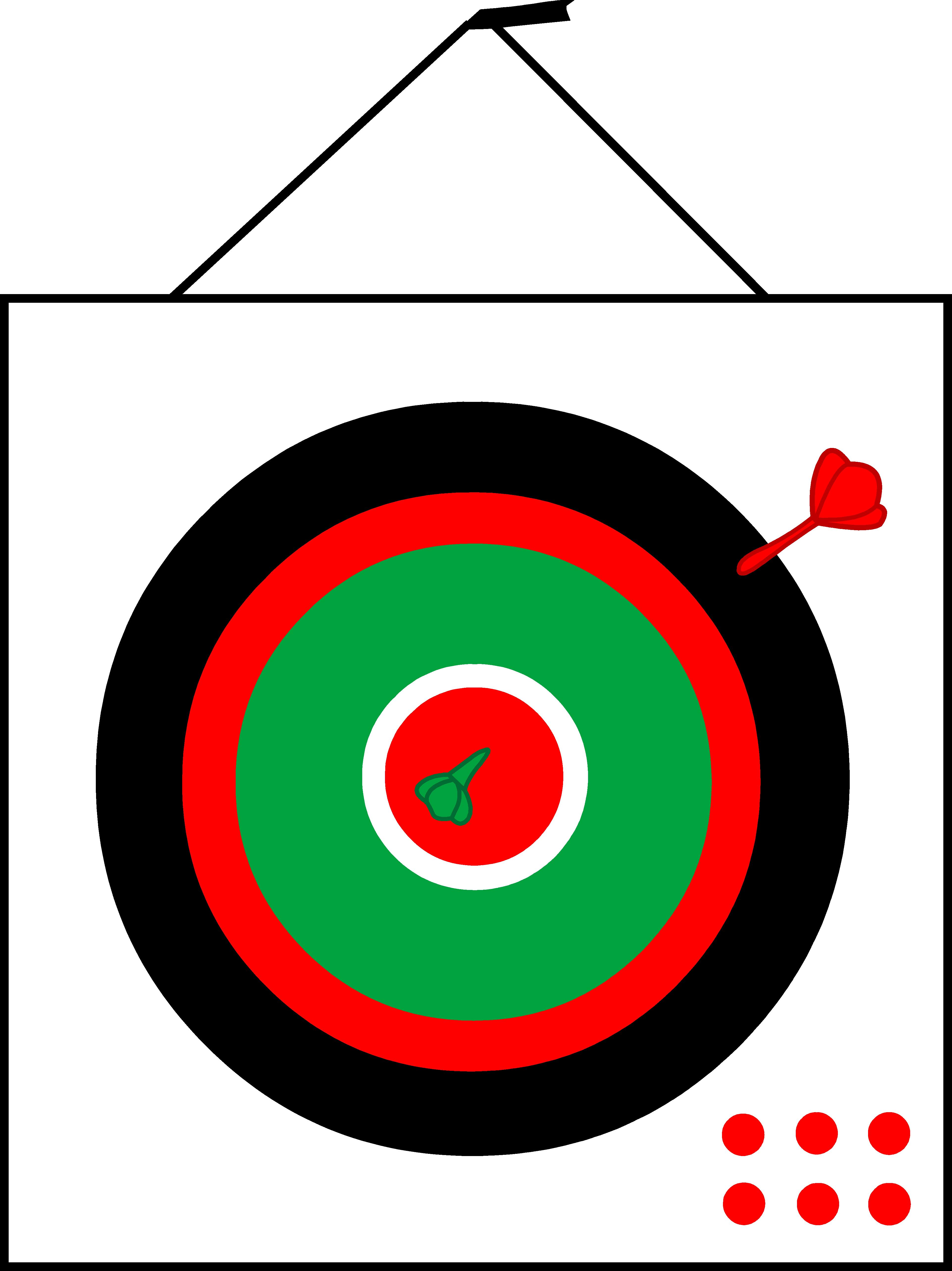 Simple design free clip. Dart clipart dartboard