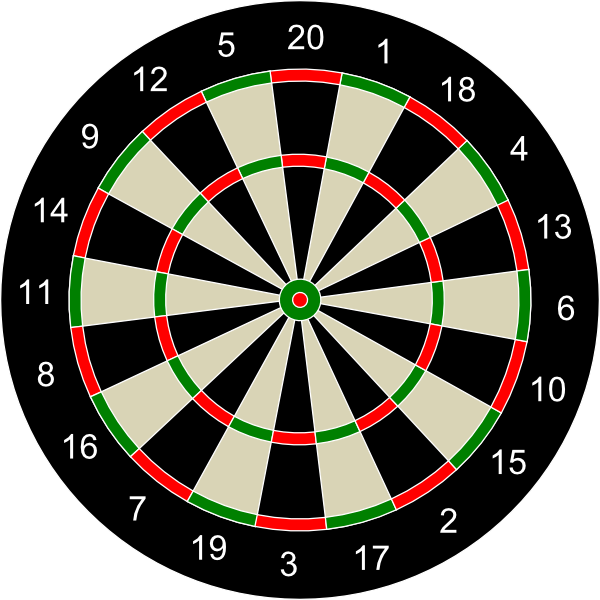 Hunting clipart target hunting. Archery dart board game