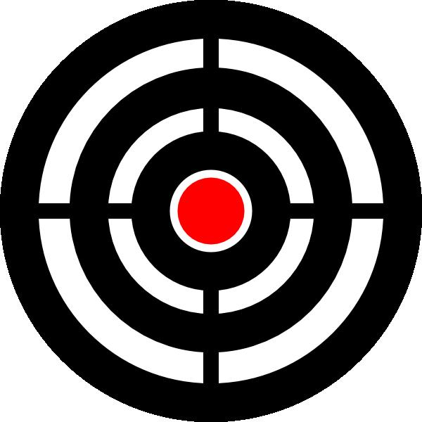 Urwald zielscheibe target aim. Gun clipart svg