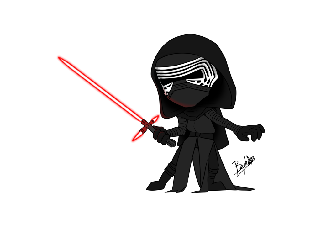collection of drawing. Starwars clipart kylo ren