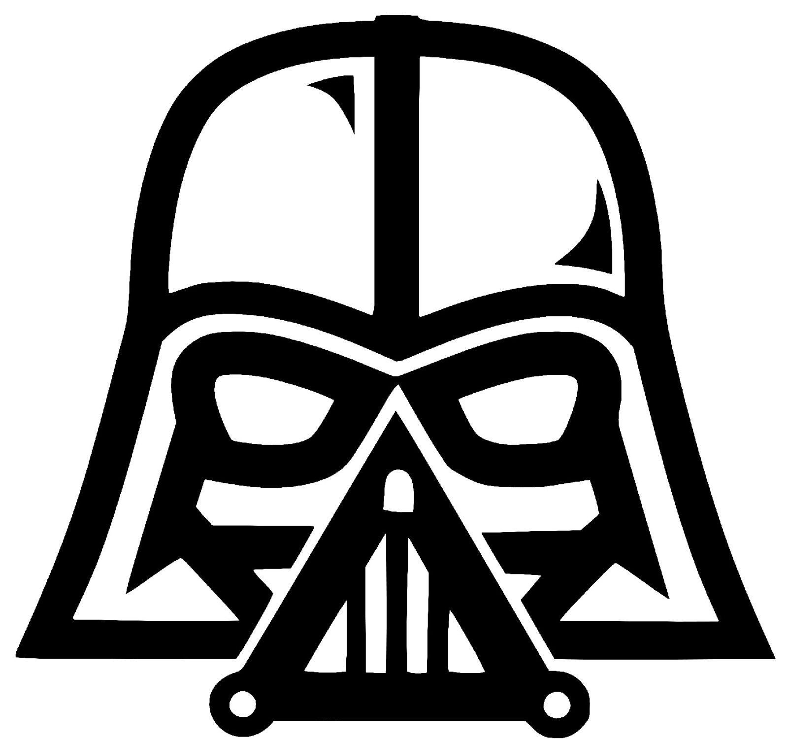 Starwars clipart head darth vader. Star wars vinyl fair