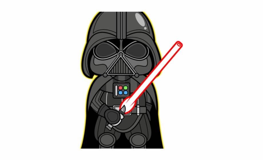 Animated png . Baby clipart darth vader