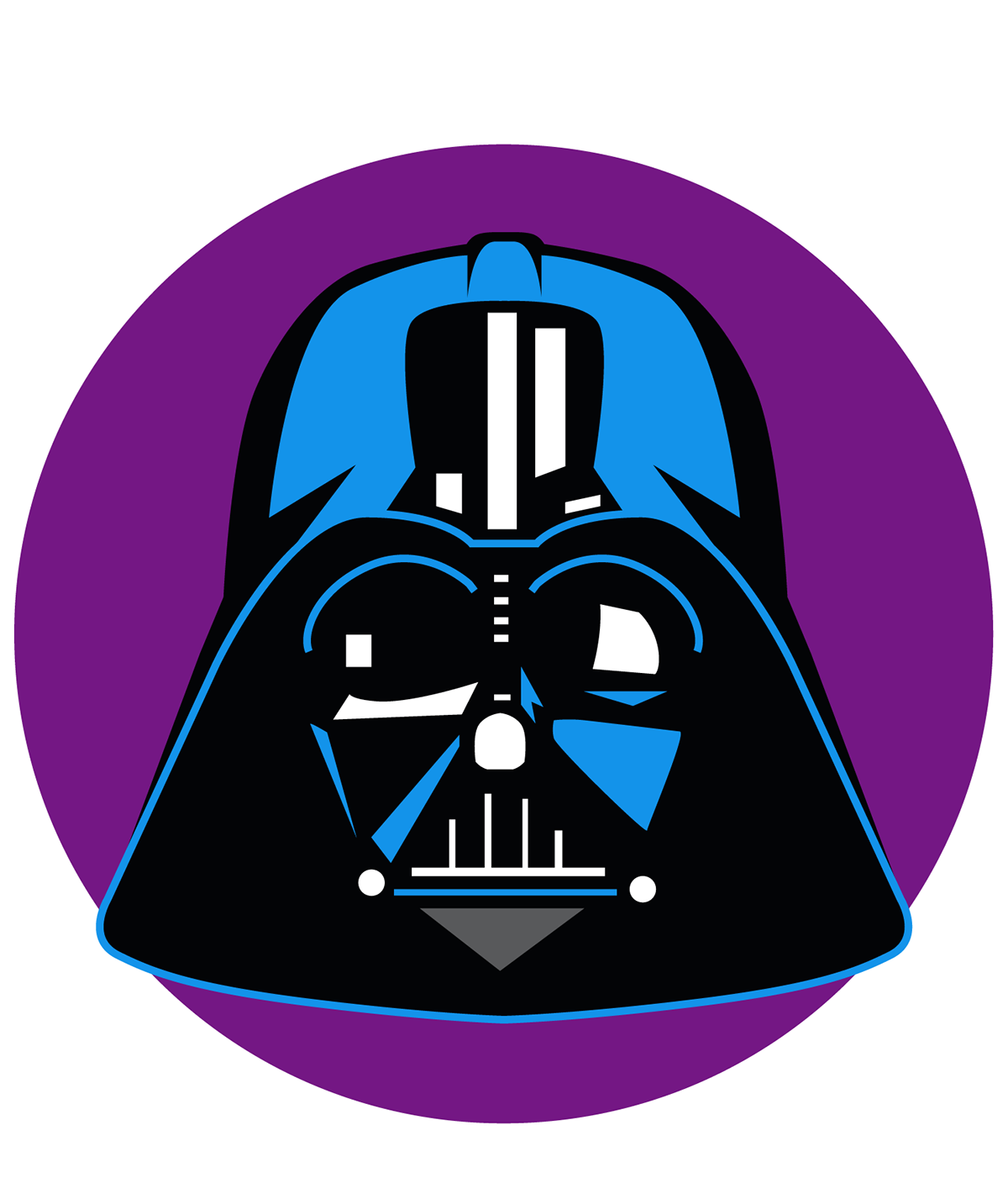 Starwars clipart head darth vader. Star wars emoji usa