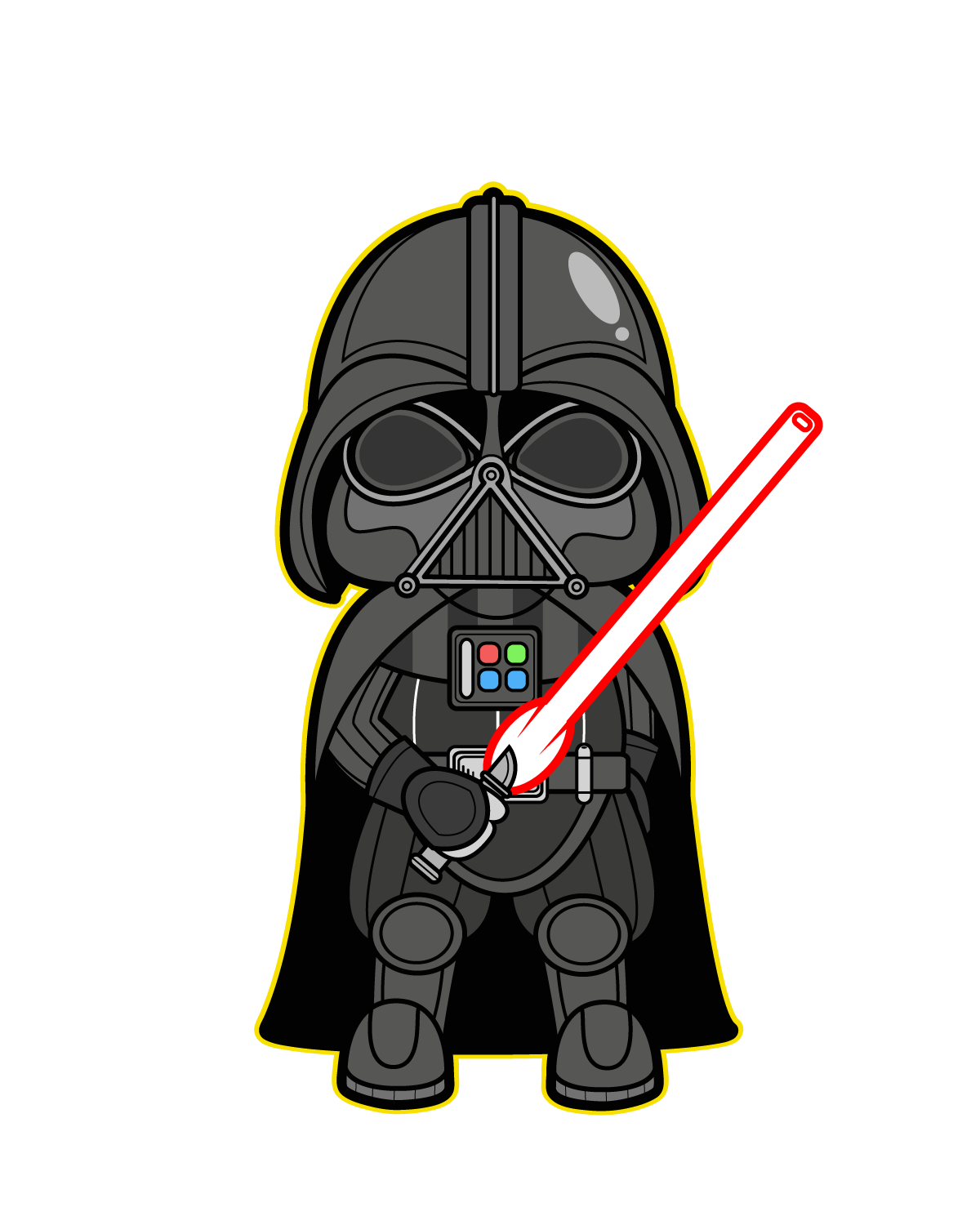 Darth vader clipart animated series. Cliparts for free ultra