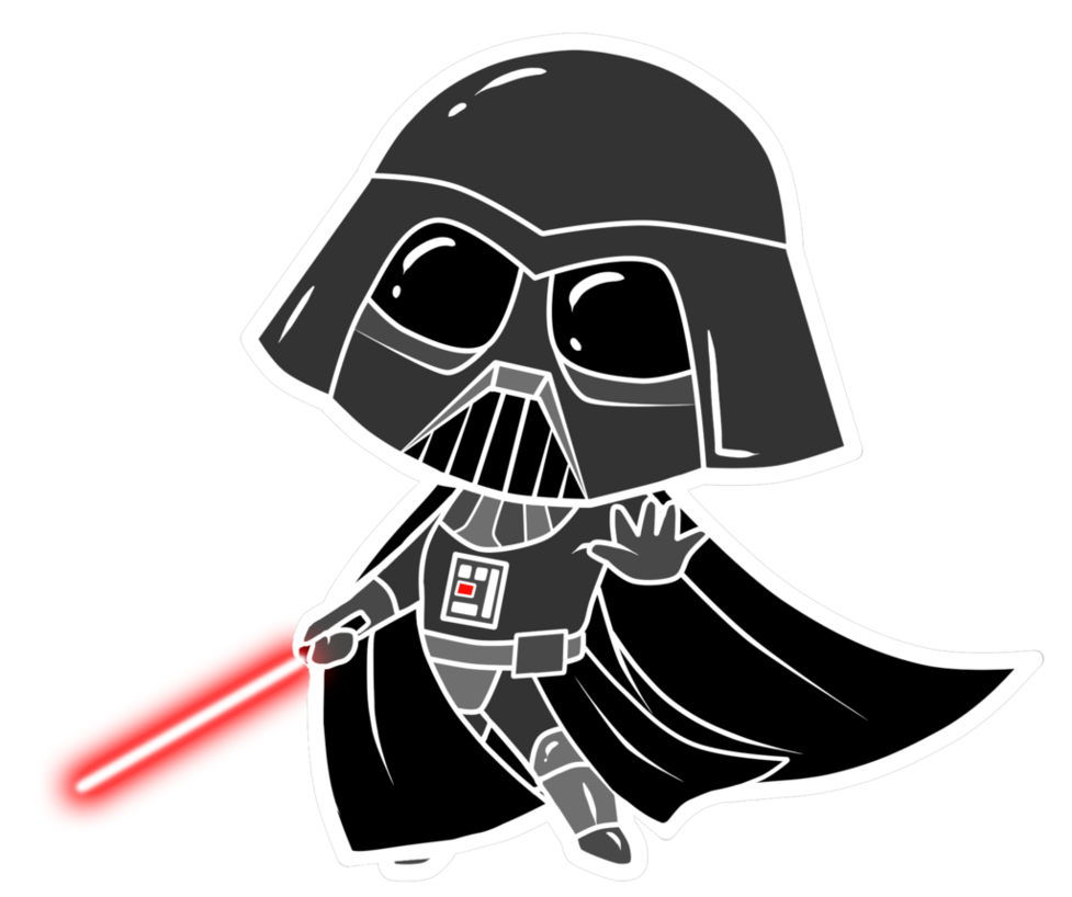 Darth vader clipart animated series. Anakin skywalker han solo