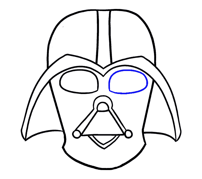 How to draw darth. Galaxy clipart drawing
