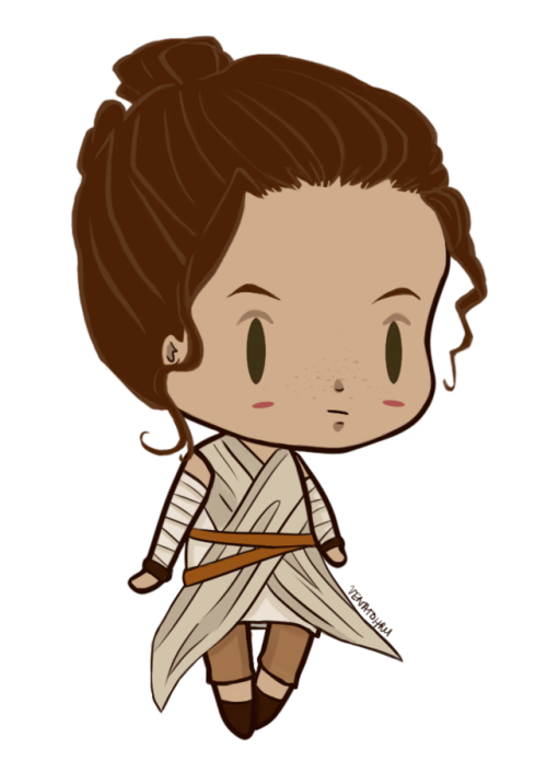 Chibi star wars tumblr. Starwars clipart rey