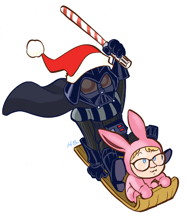Darth vader christmas