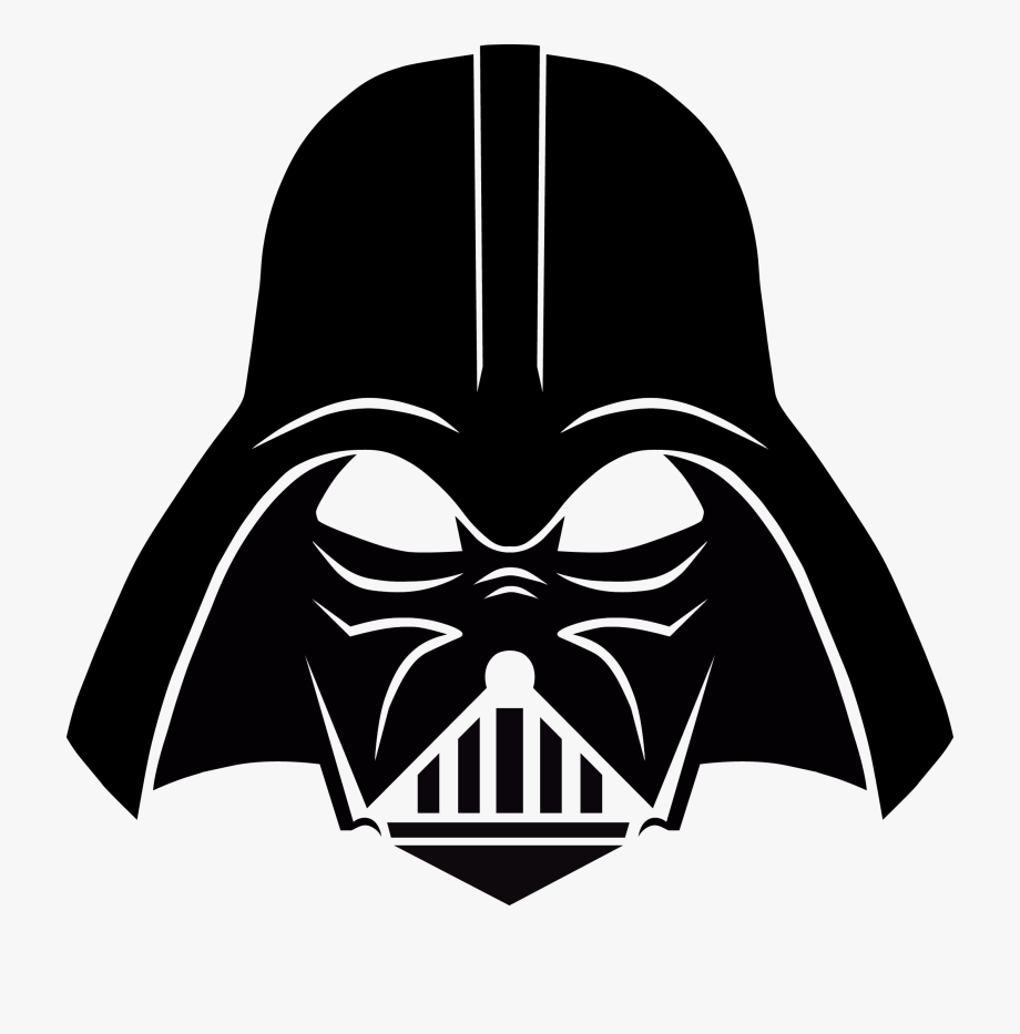 Starwars clipart head darth vader. Star wars