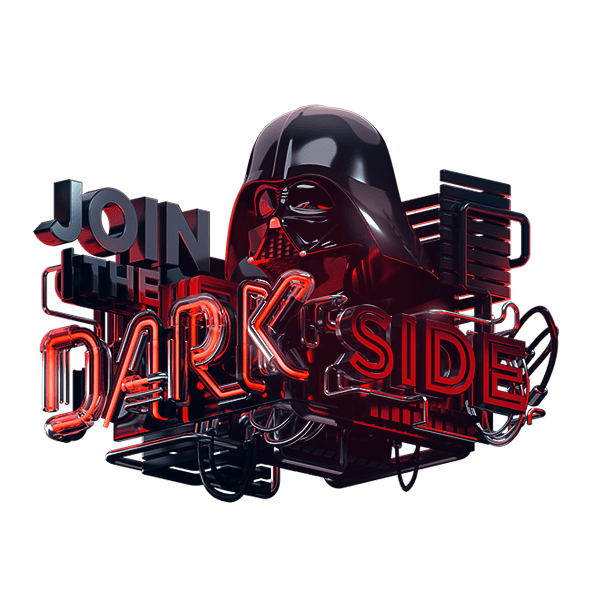 Join the machineast . Darth vader clipart dark side