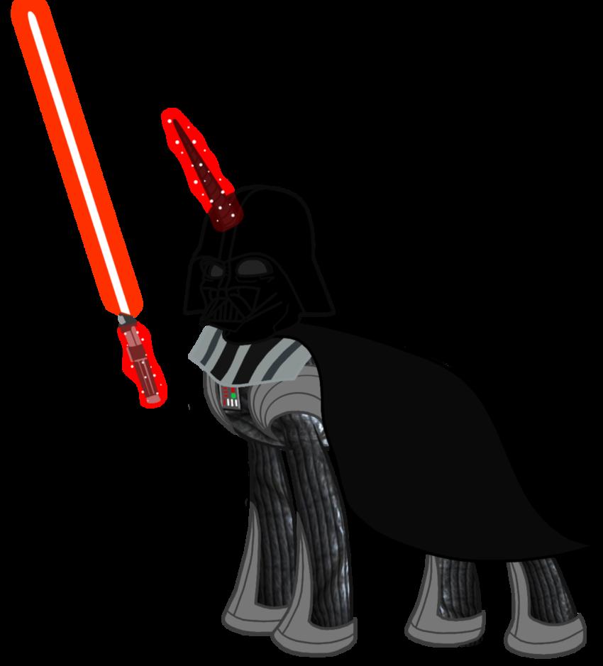 Darth vader clipart dark side. My little pony star