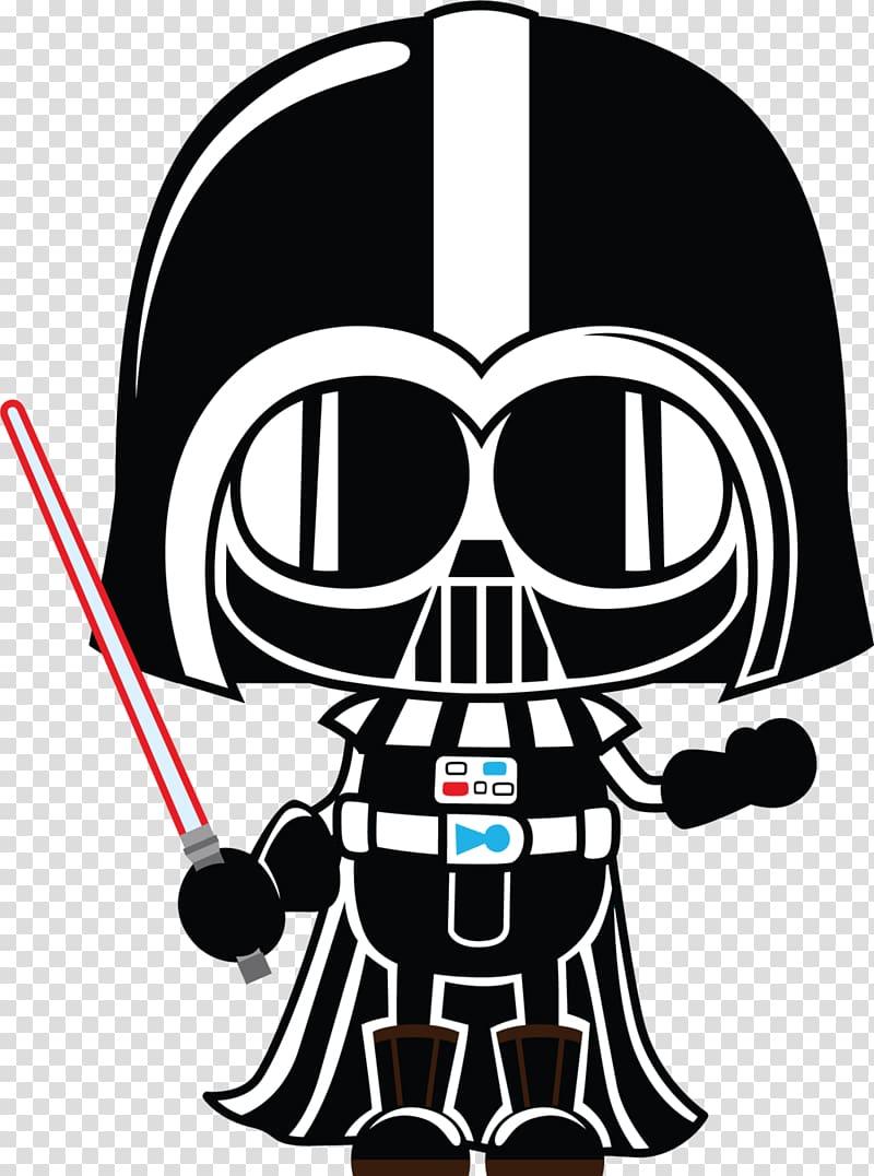 Star wars illustration anakin. Darth vader clipart drath