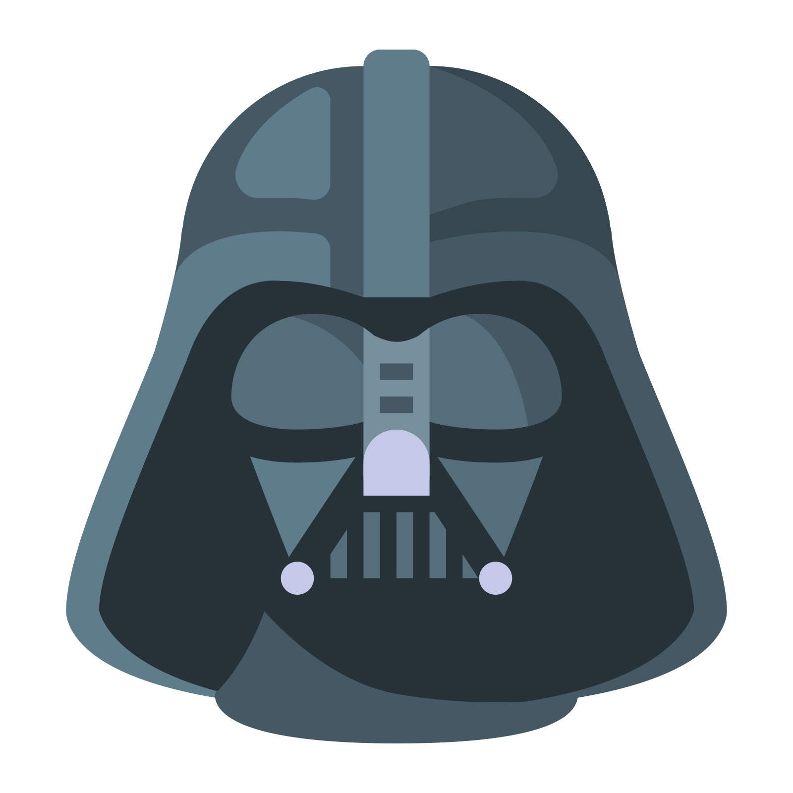 Darth vader clipart flat. Mask vector kenhtruyen info