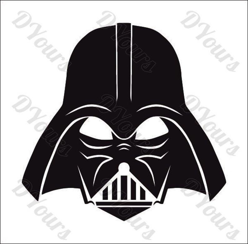 Star wars vector model. Darth vader clipart full body