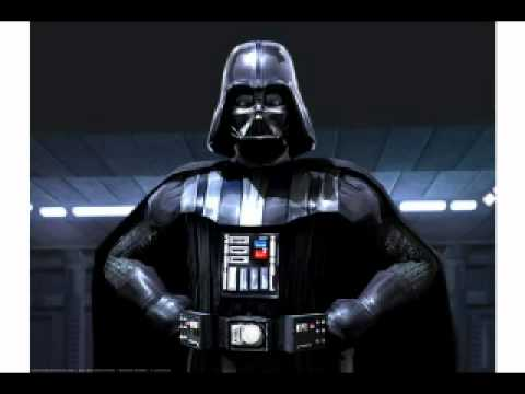 Birthday greetings for you. Darth vader clipart happy
