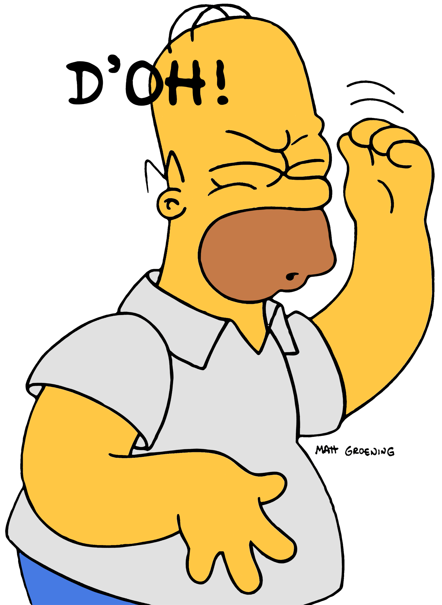 That feeling when your. Drivers license clipart homer simpson