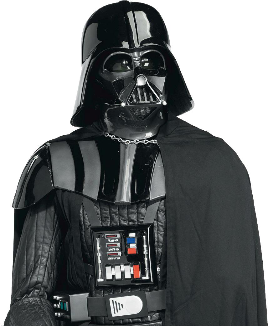 Darth vader clipart icon. Transparent png file web