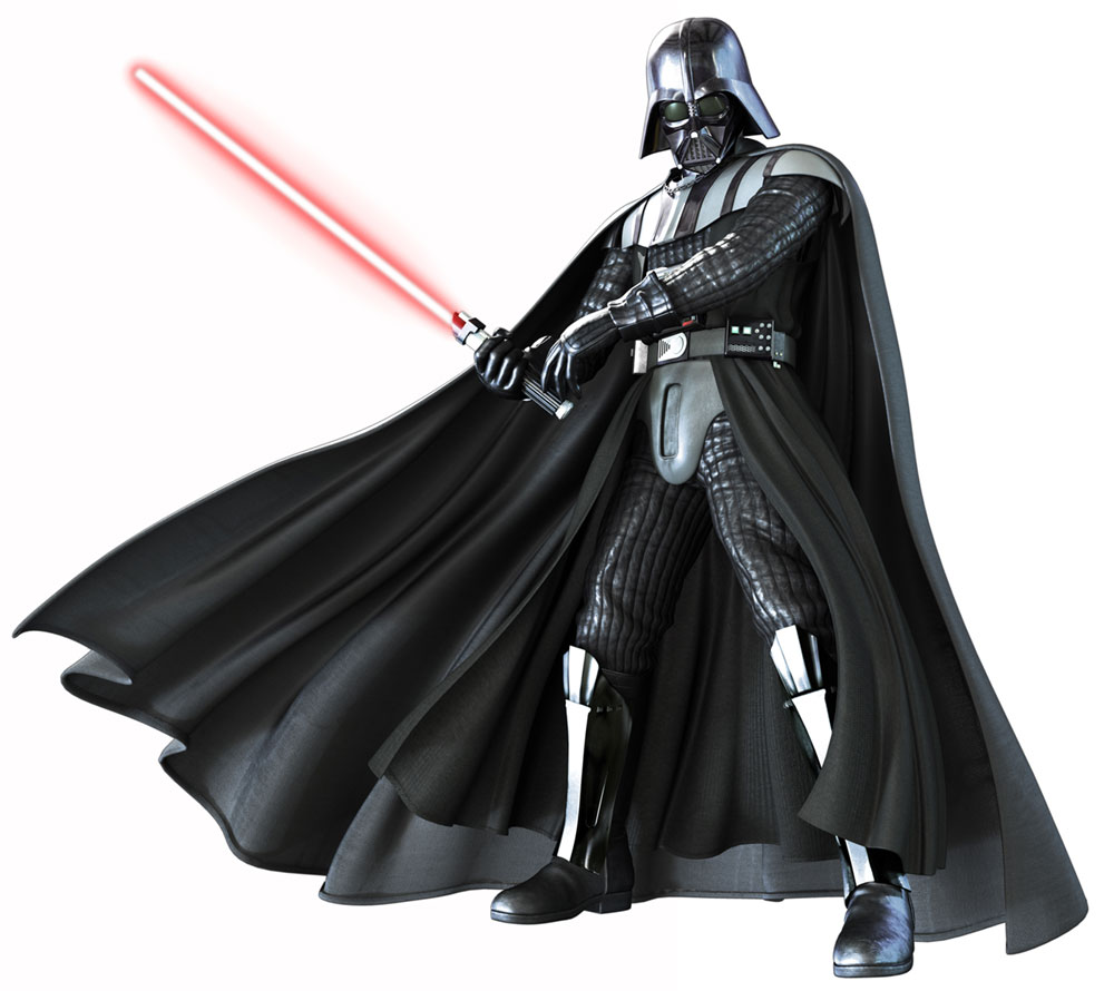 Darth vader clipart isolated.  clip art clipartlook