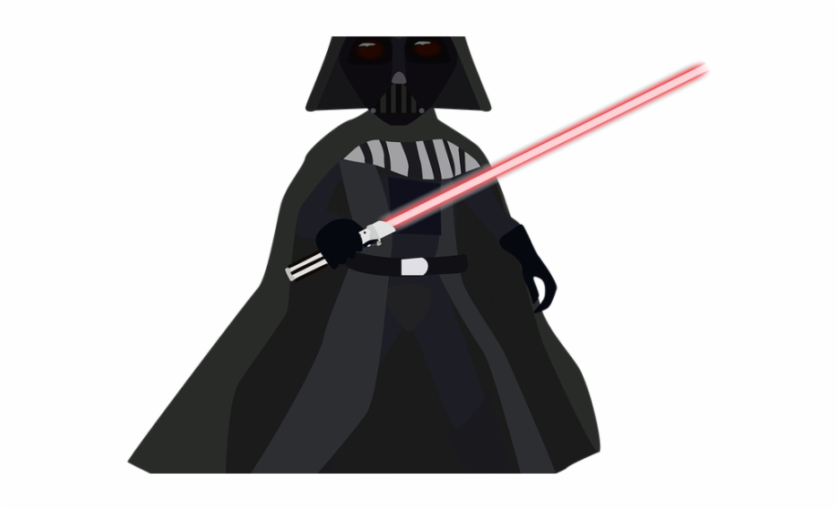 Christmas png star wars. Darth vader clipart isolated