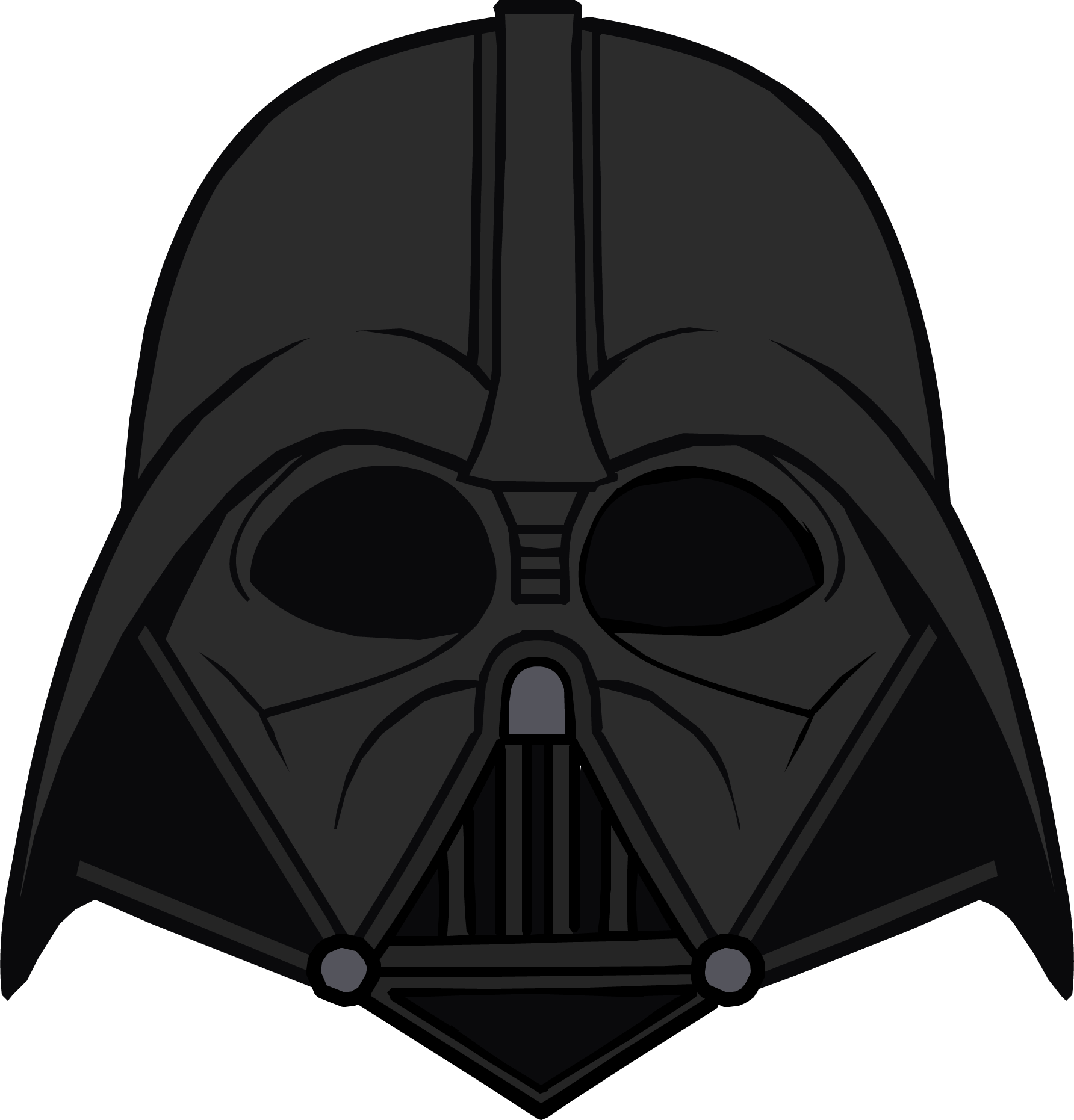 collection of mask. Starwars clipart head darth vader