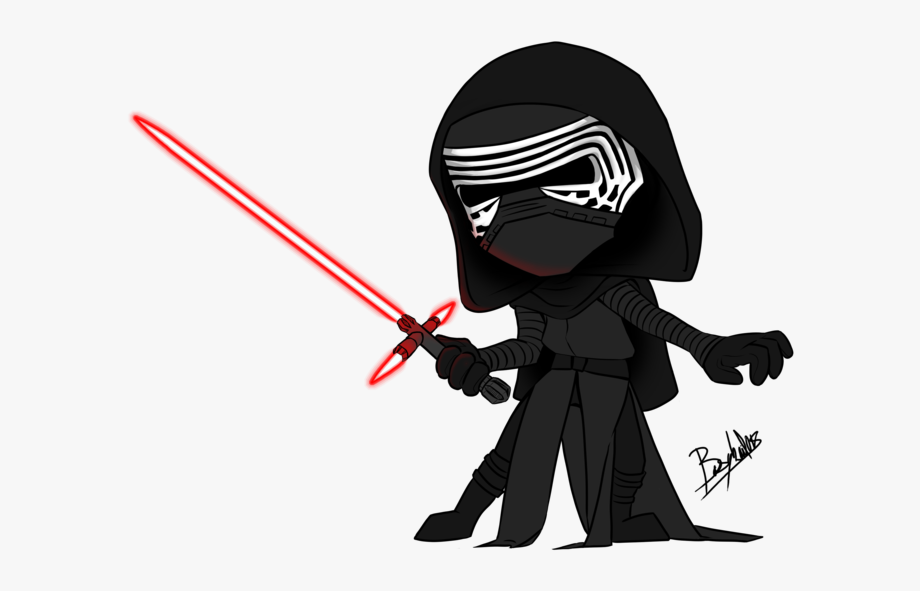 Starwars clipart kylo ren. Download collection of drawing