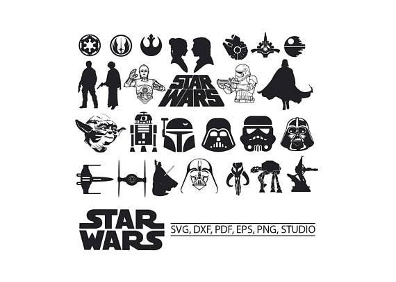 Star wars svg for. Darth vader clipart kylo ren