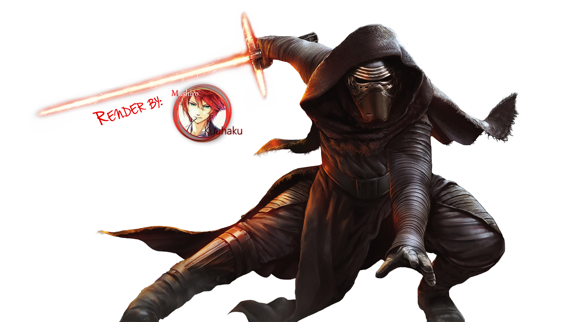 Starwars clipart christmas. Hd kylo ren render