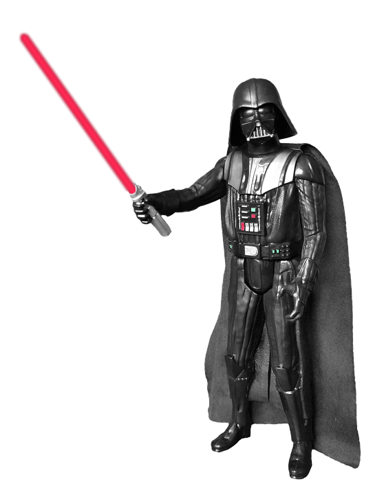 Figure transparent png . Darth vader clipart logo
