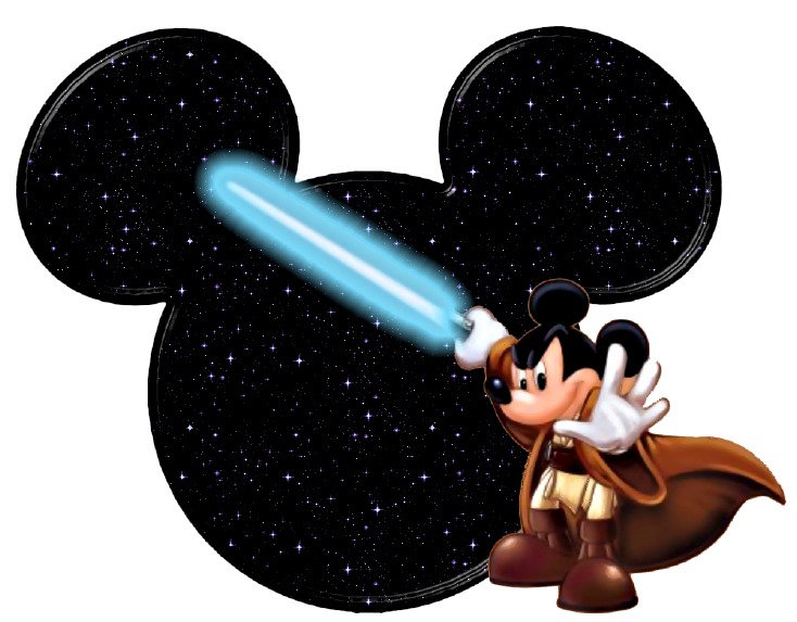 Darth vader clipart mickey ear.  collection of jedi