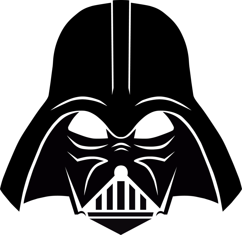 Clip art free ourclipart. Darth vader clipart outline